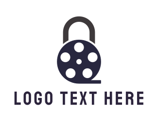 Cinematography - Padlock Film logo design