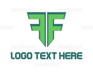 Freight - Letter F Shield logo design