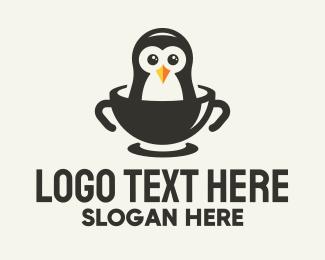 Polar - Penguin Bowl logo design