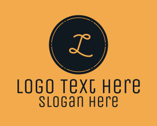 Stamp - Vintage Brown Stamp logo design