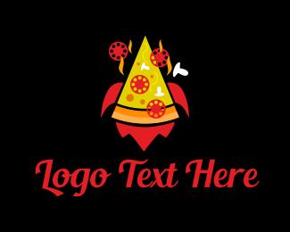 Delicious - Pizza Party logo design