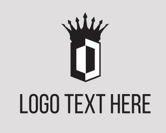 Armor - Crown Shield logo design