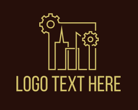 Real Estate - City Building Industry logo design