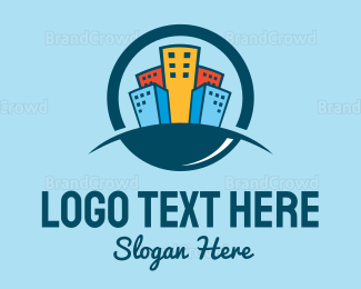 Cbd - Colorful City logo design