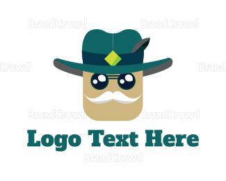 Cowboy - Old Sheriff logo design