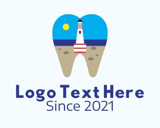 Mouth - Lighthouse Dental Clinic logo design