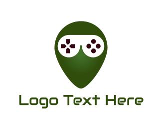 Video Game - Gaming Alien  logo design