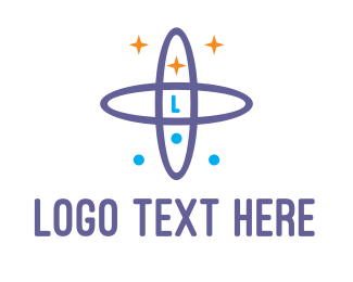 Violet - Violet Galaxy logo design