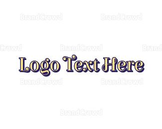 Wordmark - Traditional Wordmark logo design