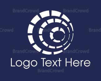 White - White Tunnel logo design