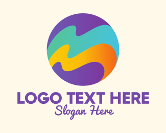 Resort - Ocean Waves Resort logo design