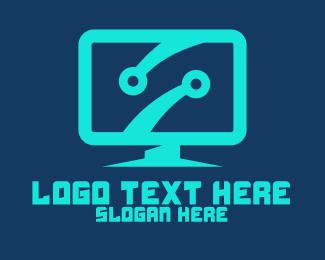 Freelancer - Circuit Computer logo design