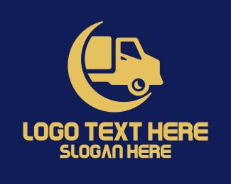 Long Haul - Generic Cargo Service logo design