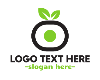 Japanese Food - Vegan Sushi logo design