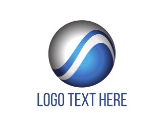 Sphere - Tech Globe logo design