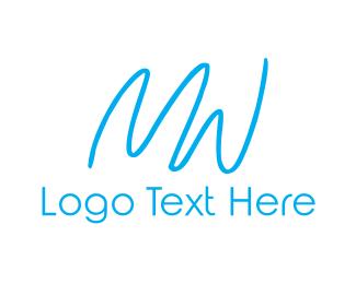 Women - M & W logo design
