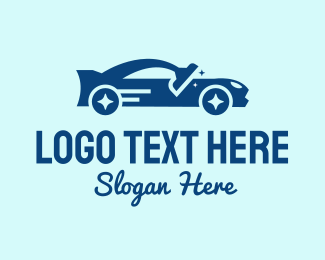 Sanitary - Auto Car Wash  logo design