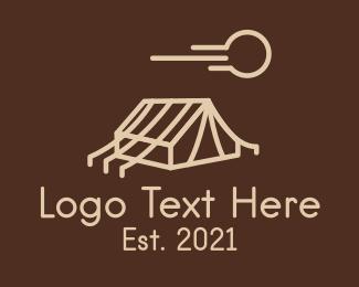 Tent - Outdoor Camping Tent  logo design
