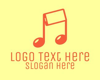 Mobile - Mobile Musical Note  logo design