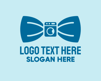 Dry Cleaner - Bow Tie Dry Cleaning logo design