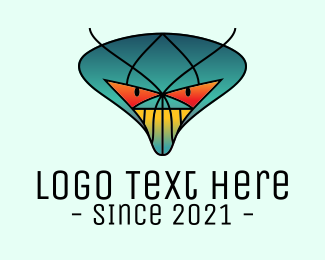 Insect - Gradient Monster Insect logo design