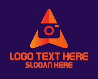 Travel Vlogger - Travel Navigation Camera  logo design