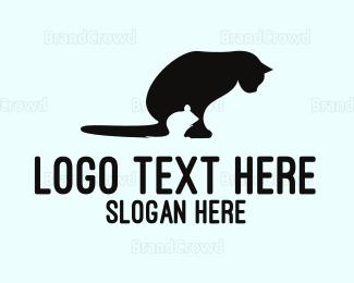 Mice - Mouse & Cat logo design