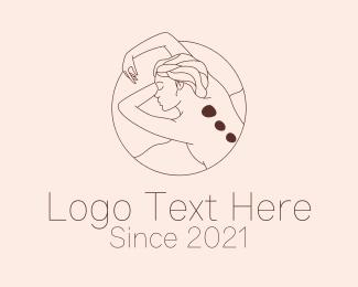 Massage - Brown Massage Therapy logo design