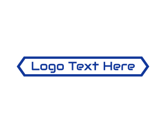 Information Technology - Simple Digital Wordmark logo design