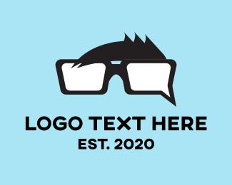 Nerd - Chat Nerd logo design