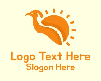 Turkey - Sun Bird logo design