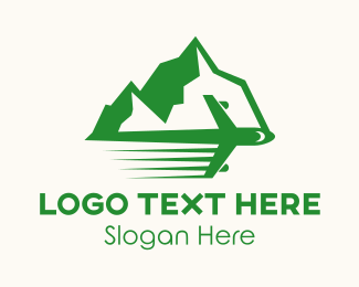 Iceberg - Mountain Travel logo design
