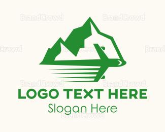Iceberg - Mountain Travel logo design