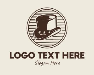 Perform - Vintage Men's Hat logo design