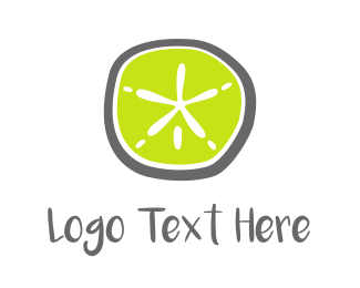 Lemon - Green Starfish logo design