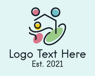 Child - Child Welfare Foundation logo design