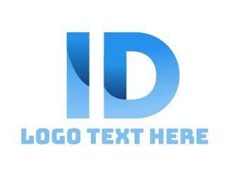 Id - Blue Identification logo design
