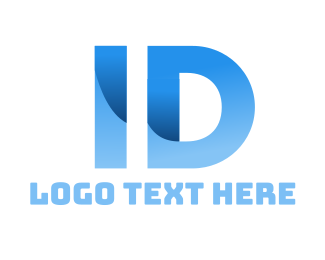 Identification - Blue Identification logo design