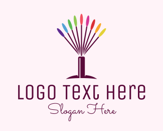 Beauty Products - Colorful Beauty Tools logo design