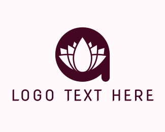 Indonesia - Lotus Letter S logo design