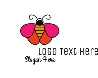 Firefly - Butterfly Cosmetics  logo design