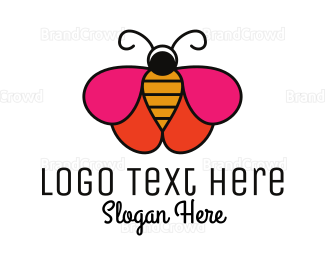 Charm - Butterfly Cosmetics  logo design
