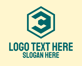 Crypto Hexagon Letter C Logo
