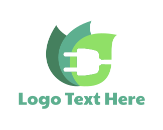 Eco Energy - Eco Plug logo design