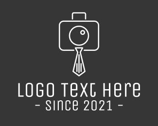 Boss - Photography Necktie logo design