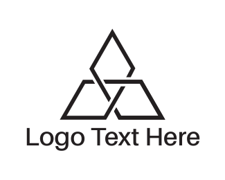 Spear - Diamond Triangle logo design