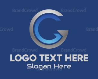 Letter G - Silver Letter G logo design