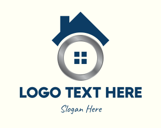 Metallic - Metallic Real Estate Home logo design