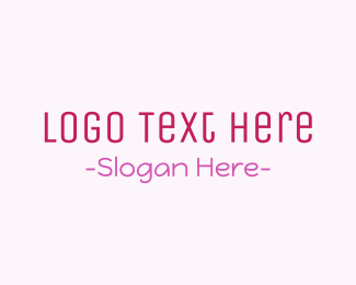 Makeup - Modern & Cute logo design