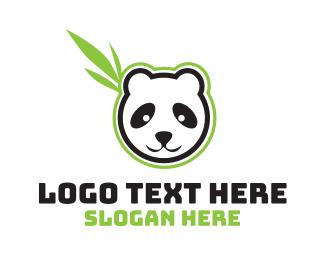 """""""Leaf Panda"""" by LogoBrainstorm"""